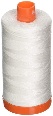 Aurifil Natural White 50 wt Cotton Thread