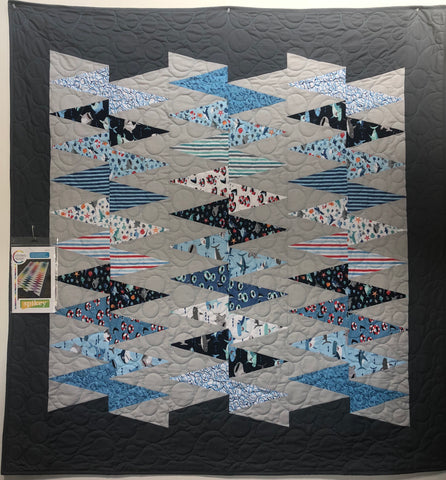 Spikey Quilt Kit - Sharktown Fabrics