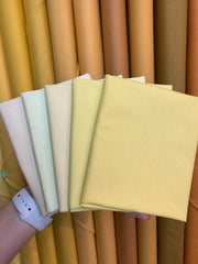Painters Palette FQ 5 Piece Bundle - Light Yellow