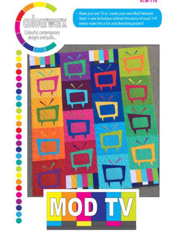 Mod TV Quilt Pattern by Colourwerx