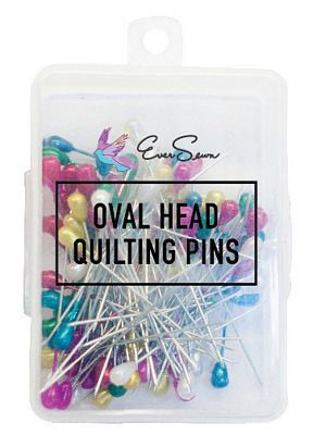 Quilting Pins Oval Head 5.5cm 144/box