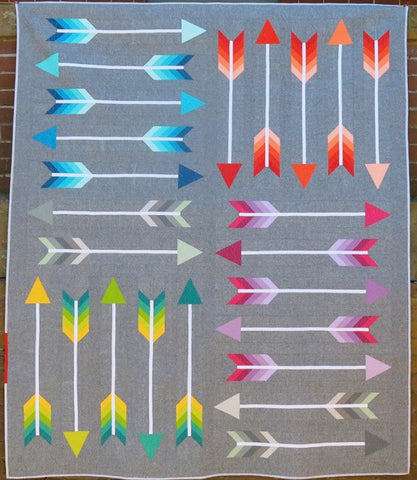 Pointy Pattern by Elizabeth Hartman