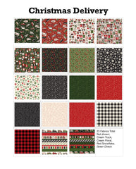Christmas Delivery 23 Fat Quarter Bundle by Riley Blake