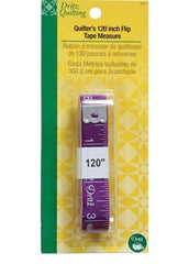 "Quilters 120"" Flip Tape Measure - Sparrow Quilt Co."