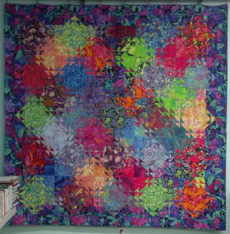 Shimmering Triangles Quilt Class with Certified Teacher Jodi Lockyer