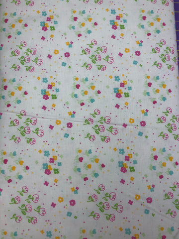 RILEY BLAKE DESIGNS - JUBILEE Tiny Floral White