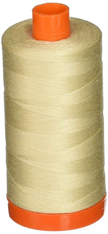 Aurifil Light Beige 50 wt Cotton Thread