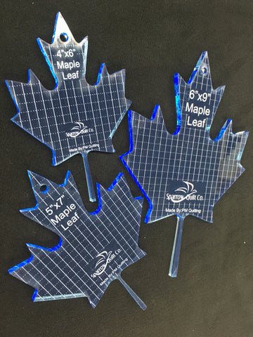 Maple Leaf Ruler Set