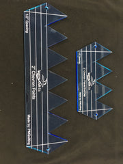 "2"" Chevron Ruler with End Cap"