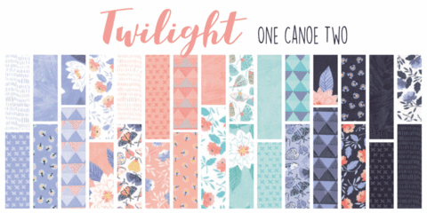 Twilight by One Canoe Fat Quarter Bundle