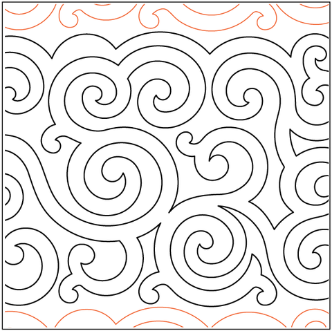 Irish swirls