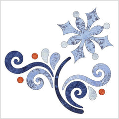 Let it Snow - Block #2 - Applique