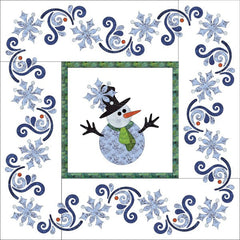 Let it Snow Quilt - Applique