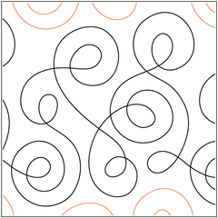 Pantographs Swirls Sparrow Quilt Co