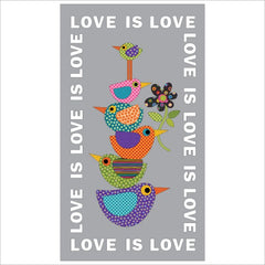 Love is Love - Panel - Applique