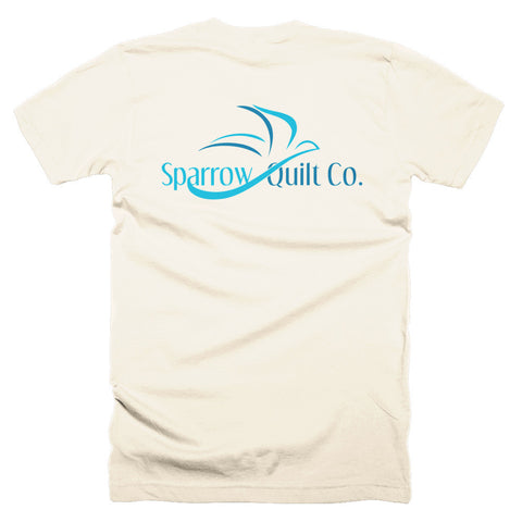 Short sleeve men's t-shirt - Sparrow Quilt Co.