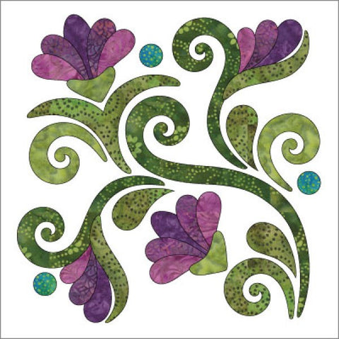 Radiant - Block - Spring - Applique