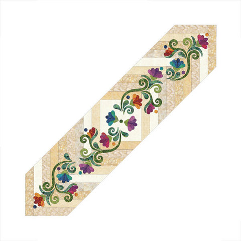 Radiant Braided - Table Runner - Applique