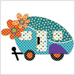 Road Trip - Retro - Applique