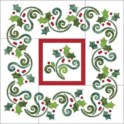 Season's Greetings Quilt - Applique