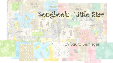 10 Piece Songbook: Little Star by Laura Berringer for Marcus Fabrics