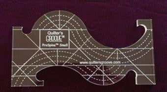 Quilter's Groove ProSpine Small Ruler