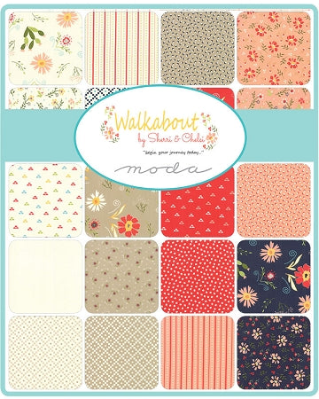 Walkabout Layer Cake by Sherri and Chelsi by Moda