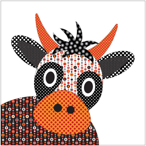 Wholly Cow - Large - Applique