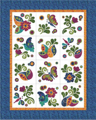 Zen Garden - 12 Block - Applique Set