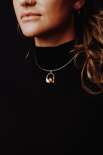 Lucinda Choker Gold Plated Sterling Silver