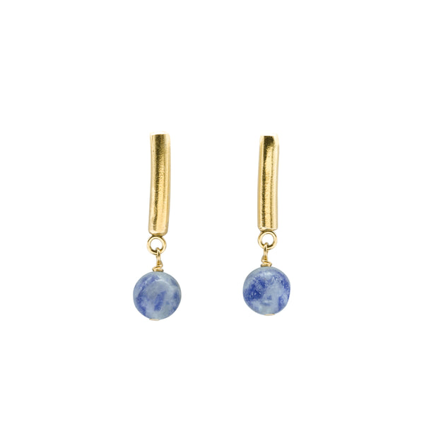Atlas Earrings Gold Plated