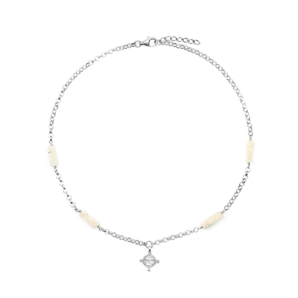 Eos Necklace Silver