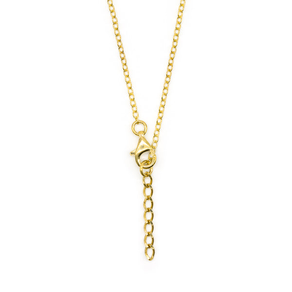 Wandering Necklace Gold Plated