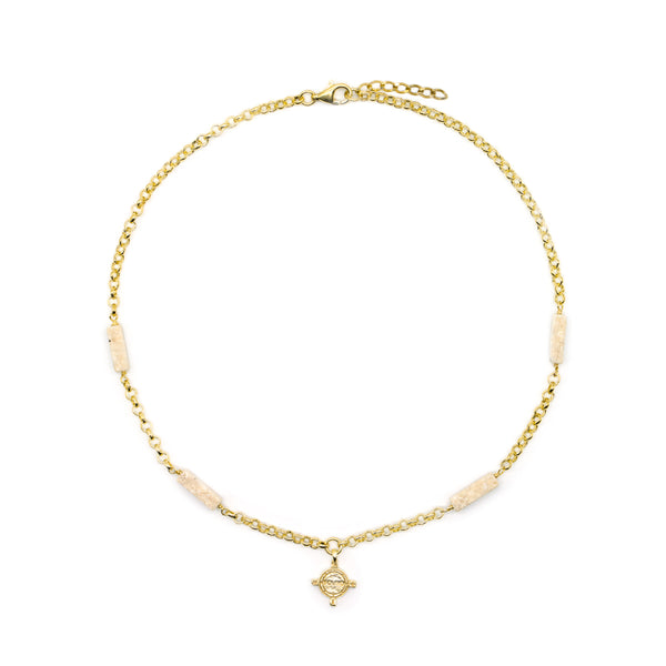 Eos Necklace Gold Plated