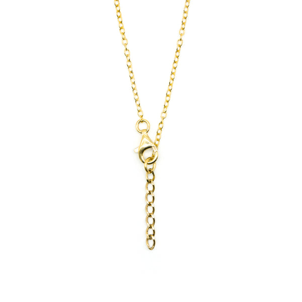 Aster Necklace Gold Plated