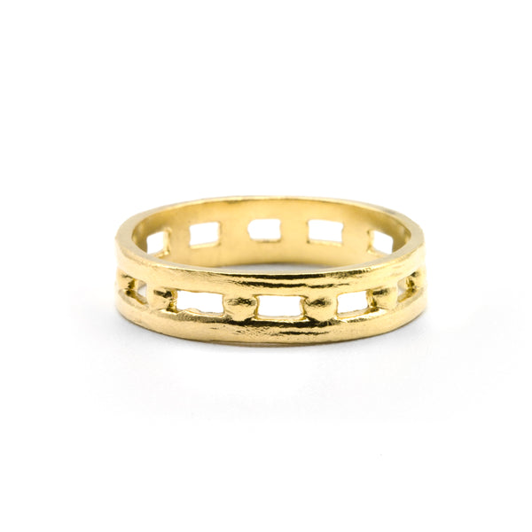 Helm Ring Gold Plated