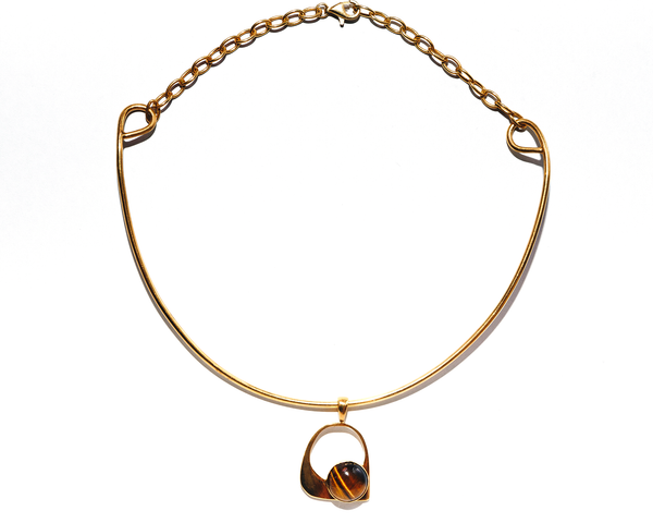 Lucinda Choker Solid Gold