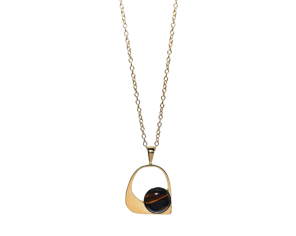 Lucinda Necklace Solid Gold