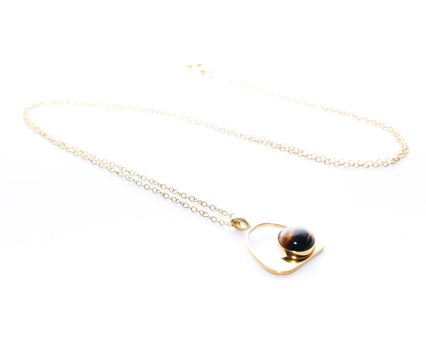 Lucinda Necklace Gold Plated Sterling Silver