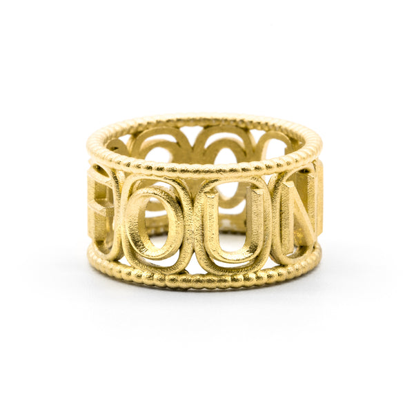Odyssey Ring Gold Plated