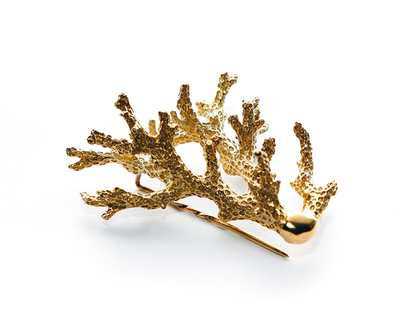 Pelorus Hat Pin Solid Gold