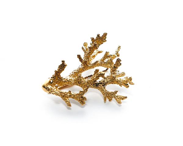 Pelorus Hat Pin Gold Plated Sterling Silver