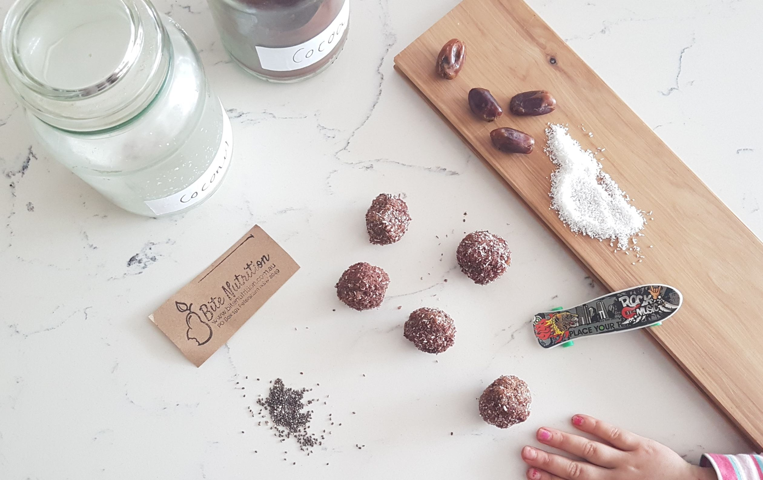 Two Ingredient Bliss Balls
