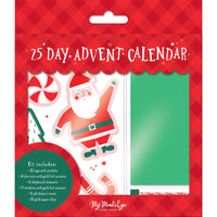 Holly Jolly Advent Calendar Kit