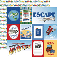Our Travel Adventure Multi Journaling Cards Paper