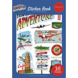 Our Travel Adventure Sticker Book