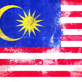 Malaysia Flag Paper