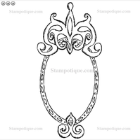 Mirror, Mirror Wood Mounted Stamp