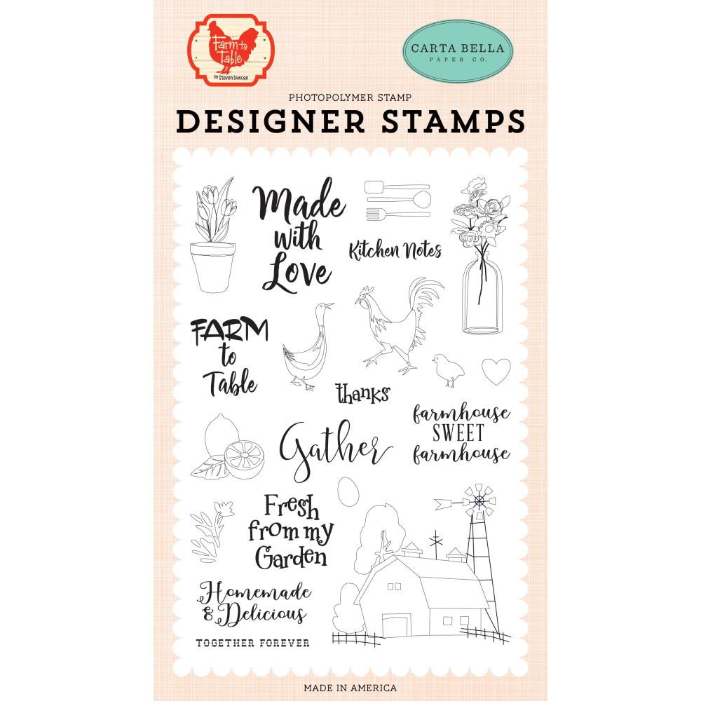 Farm To Table Gather Stamp