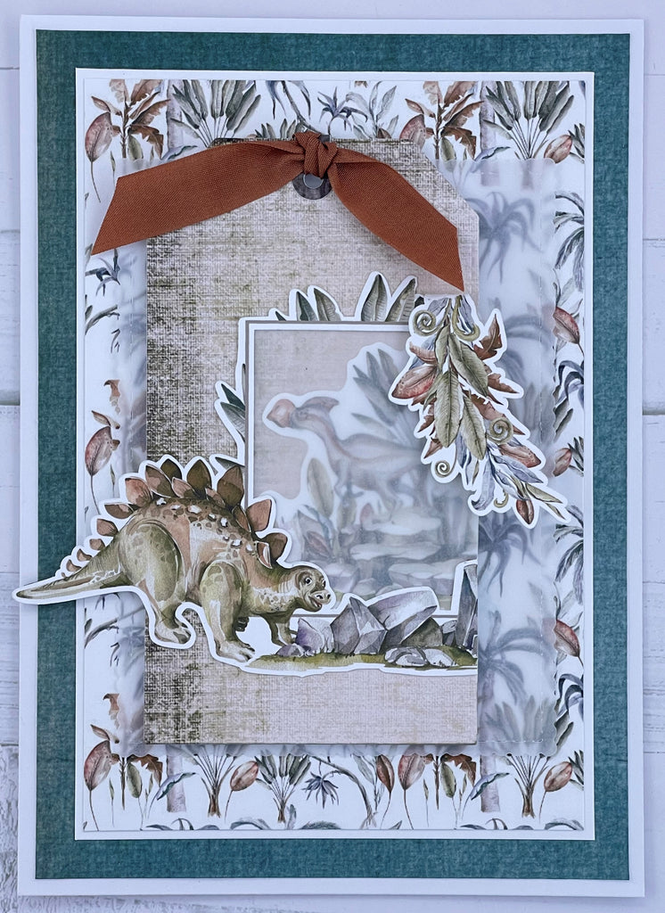 Cute Dragin Layered Die Cut